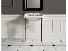 - Console washbasin with towel rail DOROTHY | Console washbasin - BATH&BATH