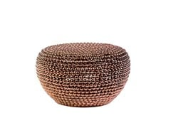 - Pouf in metallo DOT COPPER LOW - Pols Potten