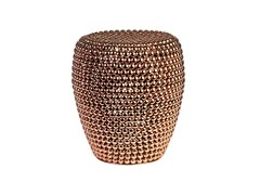 - Metal stool DOT COPPER - Pols Potten