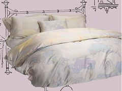- Cotton bedding set DOUBLE LIFE KING SET - Button flap - sans tabù