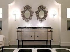 - Double vanity unit with doors DOUBLE MUSIC - Devon&Devon