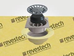 Scarico per doccia con lamina impermeabilizzanteDRY80 SUMI - REVESTECH