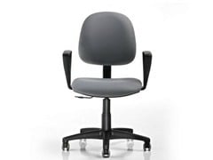 - Task chair with 5-Spoke base with armrests DUBLINO | Task chair - D.M.