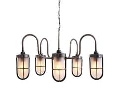 - Direct light handmade chandelier DUNE WELL GLASS LIGHT FITTING - Mullan Lighting