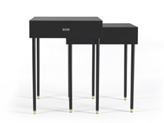 Tavolino alto in legnoDUO - GIANFRANCO FERRÉ HOME
