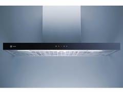 - Cappa in acciaio e vetro a parete con illuminazione integrata DW PREMIRA 9 - L 90 CM - V-ZUG