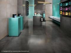 - Porcelain stoneware flooring with concrete effect DWELL FLOOR | Porcelain stoneware flooring - Atlas Concorde