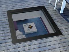 Finestra calpestabile per tetti piattiDXW - FAKRO