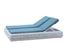 - Lettino da giardino matrimoniale reclinabile DYNASTY 84818 - SKYLINE design