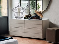 - Leather dresser DYNO | Dresser - Cattelan Italia