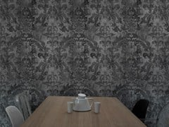 - Wallpaper DARK URBAN CONCRETE DAMASK - Mineheart