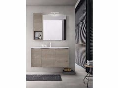 - Wooden bathroom cabinet / vanity unit E.GÒ - COMPOSITION 32 - Arcom