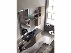 - Wooden bathroom cabinet / vanity unit E.GÒ - COMPOSITION 38 - Arcom
