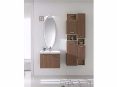 - Oak bathroom cabinet / vanity unit E.LY - COMPOSITION 14 - Arcom