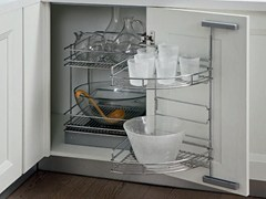 Accessorio interno per la cucina in acciaioEASY CORNER - WÜRTH