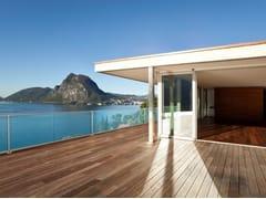 Parapetto in vetro per finestre e balconiEASY GLASS® HYBRID - Q-RAILING ITALIA
