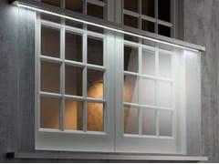 Parapetto in vetro con LED per finestre e balconiEASY GLASS® JULIET BALCONY - Q-RAILING ITALIA