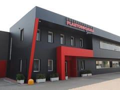 64 Painéis metálicos isotérmicos para fachadas