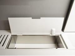Accessorio per canale attrezzatoEASYRACK KITCHEN FLAT | Contenitore - DOMUSOMNIA