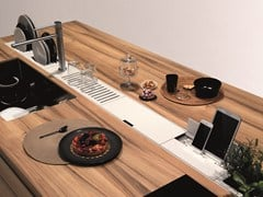 - Kitchen equipped track EASYRACK KITCHEN FLAT | Dockstation - DOMUSOMNIA