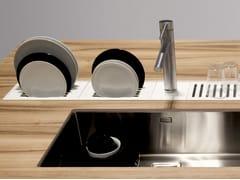 Accessorio per canale attrezzatoEASYRACK KITCHEN FLAT | Scolapiatti - DOMUSOMNIA