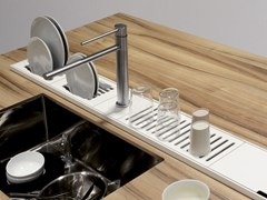 - Kitchen equipped track EASYRACK KITCHEN STEP | Drip module - DOMUSOMNIA
