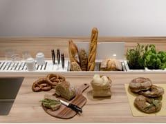 Accessorio per canale attrezzatoEASYRACK KITCHEN STEP | Canale attrezzato per cucina - DOMUSOMNIA