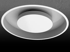 - Lampada da incasso a luce indiretta rotonda in alluminio ECLIPSE E - Exporlux