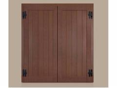 - Panel shutter ECLISSE with vertical slats - Cos.Met. F.lli Rubolino