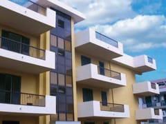 Parapetto in acciaio e PVC per finestre e balconiECO MIX | Parapetto - SIAMESI BY CASA ITALIA