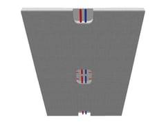 Pannello radiante per parete e soffitto in cartongessoECOWALL DRY - ROSSATO GROUP