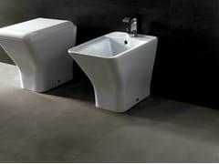 - Ceramic bidet EDGE QUADRA | Bidet - Alice Ceramica