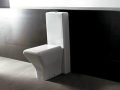 - Close coupled ceramic toilet EDGE QUADRA | Close coupled toilet - Alice Ceramica