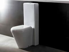 - Close coupled ceramic toilet EDGE TONDA | Close coupled toilet - Alice Ceramica