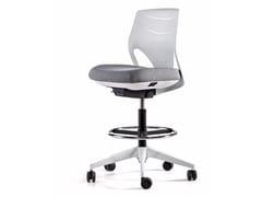 Sedia ufficio operativa girevole a 5 razze con ruoteEFIT | Sedia ufficio operativa per disegnatore - ACTIU