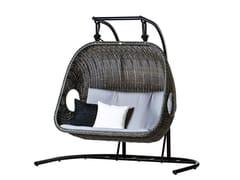 - 2 Seater garden hanging chair EGG | 2 Seater garden hanging chair - 7OCEANS DESIGNS