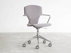 - Task chair with 5-Spoke base with casters EGOA | Task chair - STUA