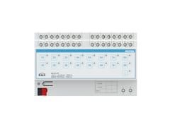 Uscita binaria 16 canali / attuatore tapparelle 8 canaliEKINEX® EK-FF1-TP - EKINEX® BY SBS