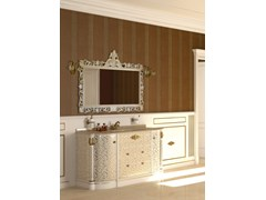 - Lacquered vanity unit with mirror ELBA CM01E - LA BUSSOLA