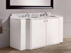 Mobile lavabo doppio con anteELEANOR - BATH&BATH