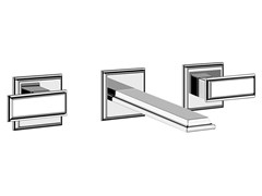 - 3 hole washbasin tap ELEGANZA 46090 - Gessi