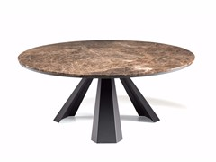 - Round table with Lazy Susan ELIOT ROUND - Cattelan Italia