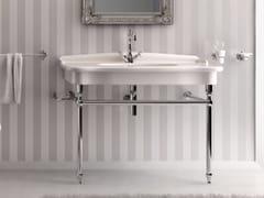 - Console washbasin ELLADE | Ceramic washbasin - Hidra Ceramica