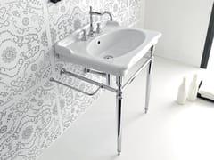 - Console ceramic washbasin ELLADE | Console washbasin - Hidra Ceramica