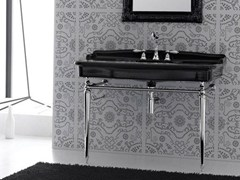 - Console ceramic washbasin ELLADE - Hidra Ceramica