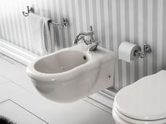 - Wall-hung ceramic bidet ELLADE   Wall-hung bidet - Hidra Ceramica