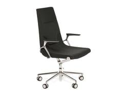- Swivel fabric task chair with 5-Spoke base ELLE 01 | Task chair with 5-Spoke base - Emmegi