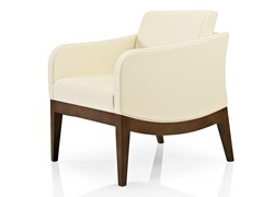 - Leather easy chair with armrests ELLEN | Easy chair with armrests - J. MOREIRA DA SILVA & FILHOS, SA