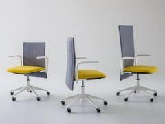 Sedia ufficio operativa ad altezza regolabile a 5 razzeELODIE | Sedia ufficio operativa - GABER
