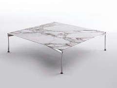 - Low square marble coffee table EMIL | Square coffee table - Marac